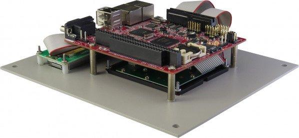 KPAD-LCD Rear Panel Angle View