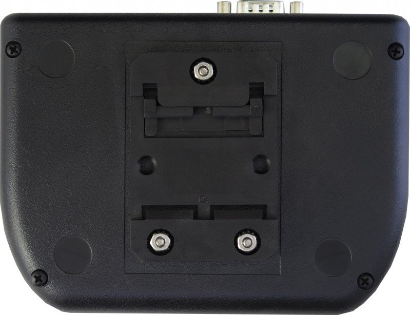 Rear view of enclosure with DIN mount (TS-ENC820-DIN or TS-ENC820-HMI-DIN	)