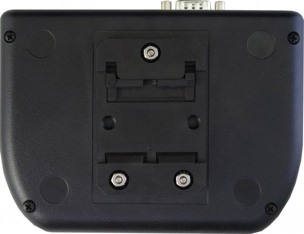 Rear view of enclosure with DIN mount (TS-ENC820-DIN or TS-ENC820-HMI-DIN)