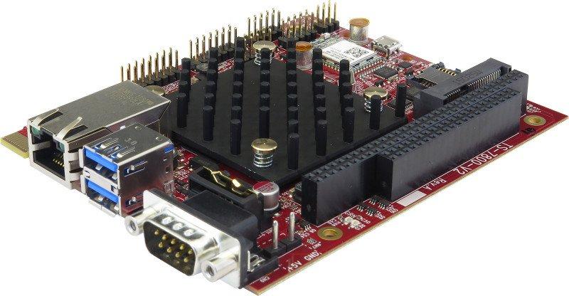 TS-7800-V2 Front Angle View (TS-7800-V2-DMW3I)